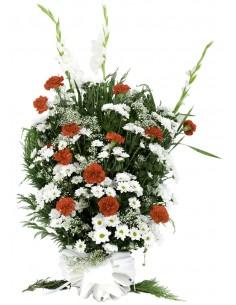 Ramo flores para difuntos....